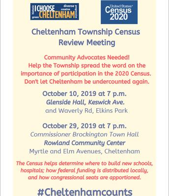 Cheltenham Census Meeting