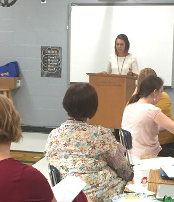 Teachers attend Professional Development
