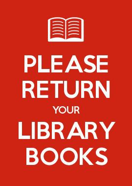 Time to return library books!