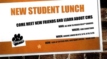 New Student Lunch!