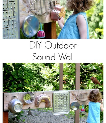 11. Build an outdoor sound wall!