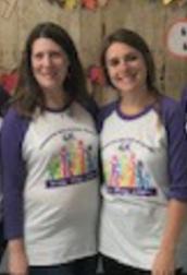 Cindy and Kristyn 4K Teachers at Pumpkin Patch
