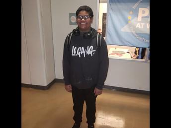 Kevin Amparo 8th Grade