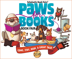 PAWS for Books Book Fair March 12-20