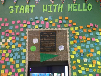 """Start with Hello"" Week"
