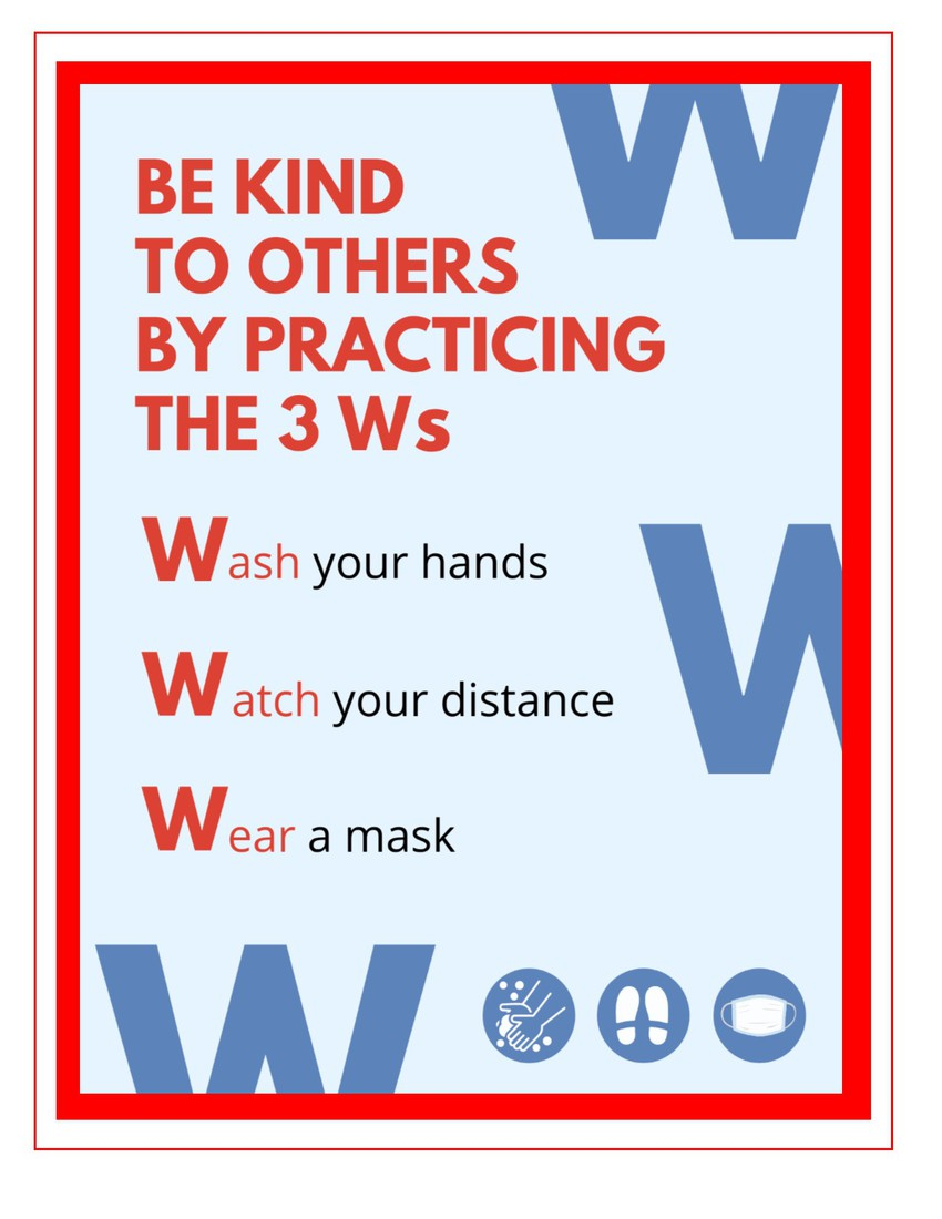 3 W's Poster
