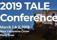 Texas Association for Literacy Education (TALE) Annual Conference - March 1 & 2 in Waco, TX