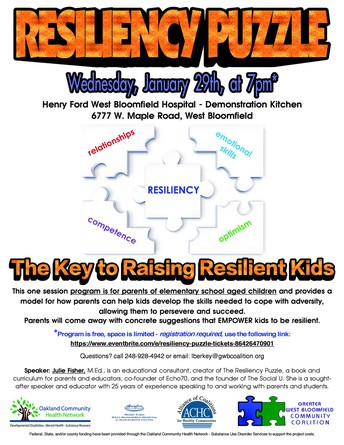 GWB Community Coalition - Resiliency Puzzle - Jan. 29