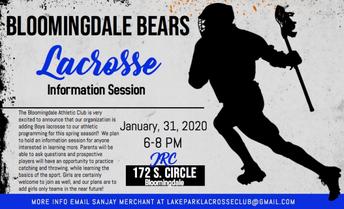 Bloomingdale Bears Lacrosse