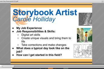 Career Day - Storybook Artist