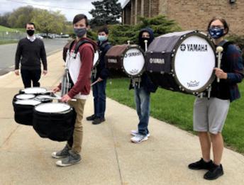 Homecoming Drumline
