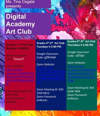 CCSDA Art Club