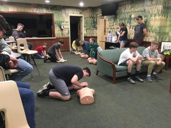AHS: Coach Parrish's Health Class