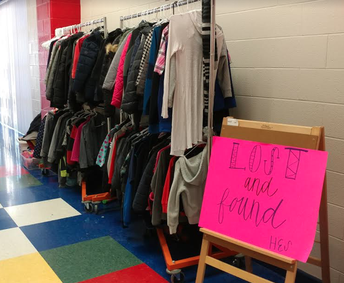 Lost & Found Items - Deadline to Claim is Friday, May 3