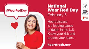 February 5th is RED Awareness Day!