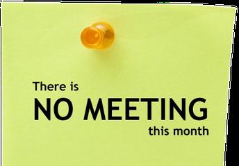 No SAC Meeting