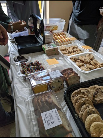 Muslim Student Association(MSA) Bake Sale At IFN