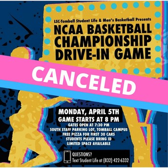 NCAA Men's Basketball Drive-In Showing, CANCELED