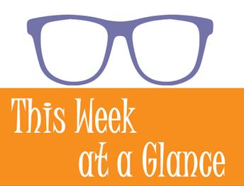 Weekly activities: