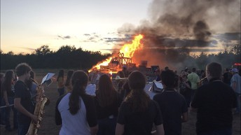2019 Homecoming Bonfire