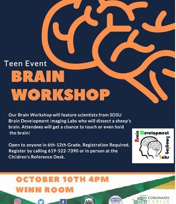 Teen Event at Coronado Library