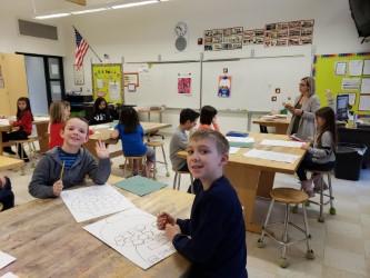 2nd Graders Blending