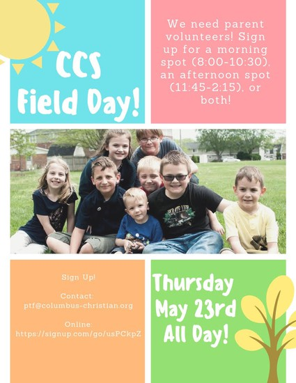 Field Day Sign Up