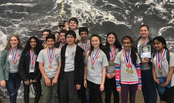 CPMS Science Olympiad Place Second at State