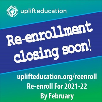 Re-Enrollment Deadline is Fast Approaching!