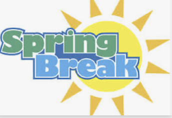 Spring Break is March 15-19th