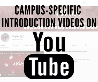 Waller ISD On-Campus Protocols Videos