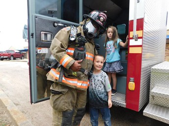 Primary Students had Special Visit from Fire Department