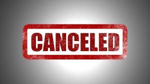 Canceled Performances/Trips