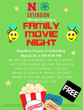 2020 4-H Movie Night