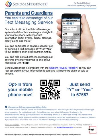 MCSD Text Announcements
