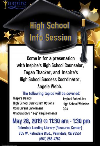 AV High School Information Session