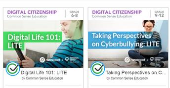 Secondary Digital Citizenship Lessons 6-12