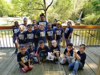 First Grade Visits Caldwell Zoo