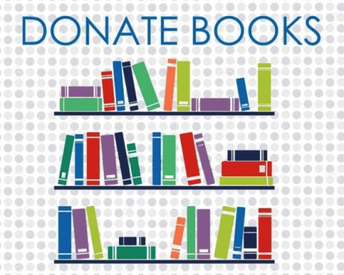 Please consider donating used books to our library.