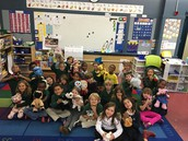 The class voted on a stuffed animal party