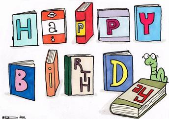 Birthday Books Donation Request