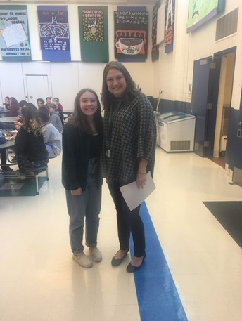 Congratulations, Ava Walker, LBMS Project 351 Ambassador
