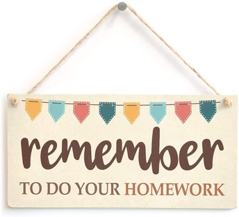 About Homework and Monthly Objective Documents