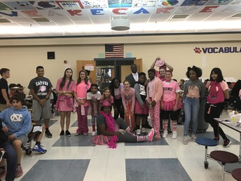 Carver Pink out!