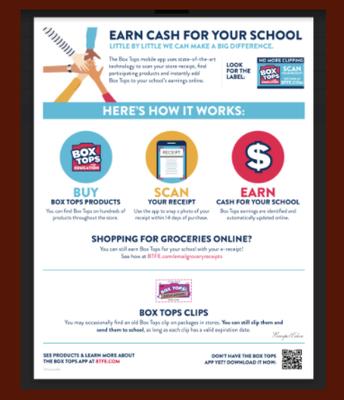 Box Tops: Earn Cash for Prisk!