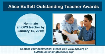 Is there an Omaha Public Schools teacher that  deserves recognition?