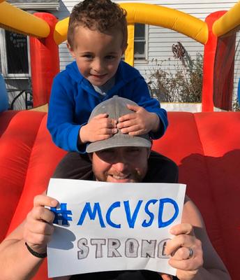 Dan & Shane Malloy Sharing Their District Spirit