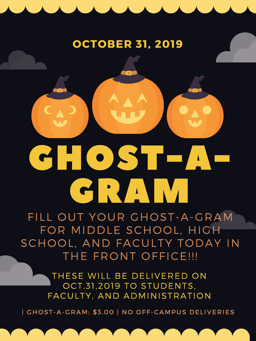 Ghost-a-Gram order form