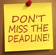 Upcoming Crosby Scholars Scholarship Deadlines