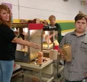 Popcorn Team works on Fridays!